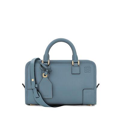 LOEWE Amazona 23 Bag stone blue front