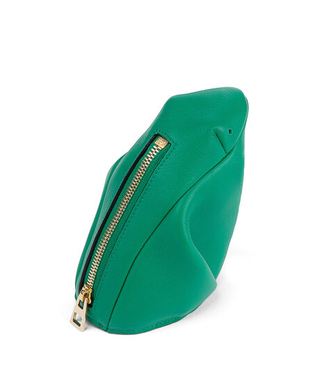 LOEWE Frog Coin Purse Green all