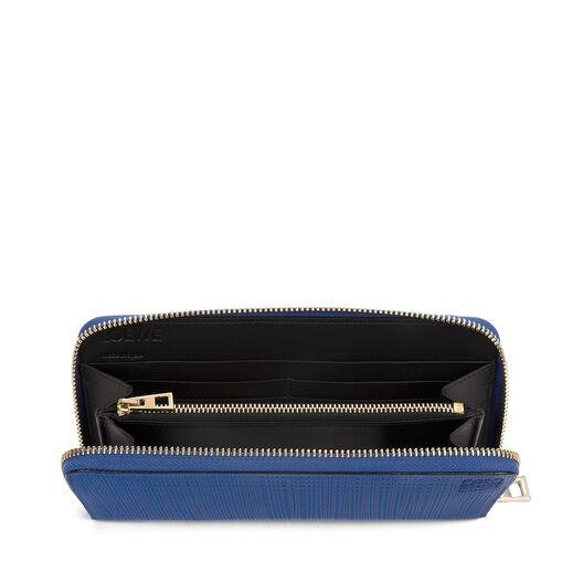LOEWE Zip Around Wallet Electric Blue all