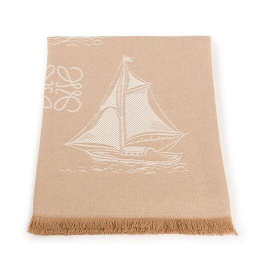 145X180 Boats Blanket