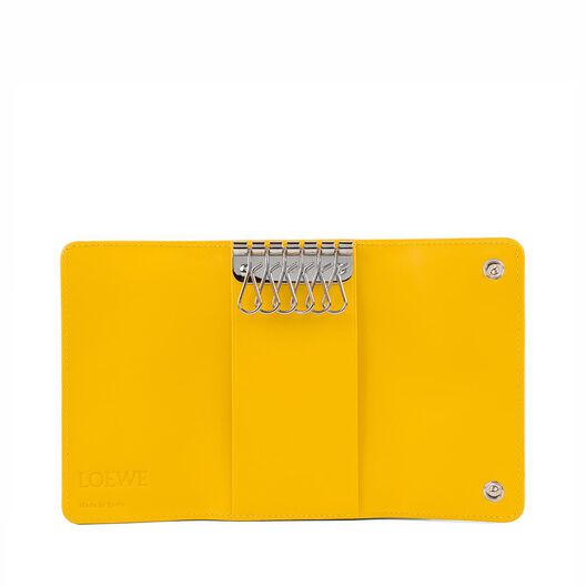 LOEWE 6 Keys Keyring Yellow all