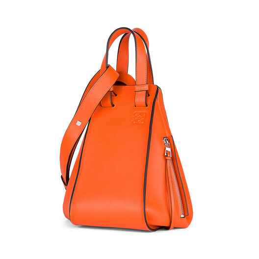 LOEWE Hammock Small Bag Orange all