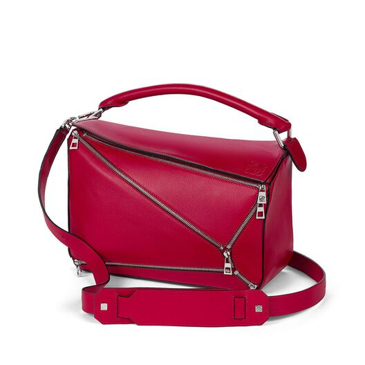 LOEWE Bolso Puzzle Zips Rouge all