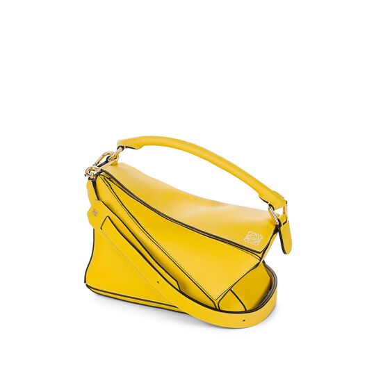 LOEWE Puzzle Small Bag Yellow all