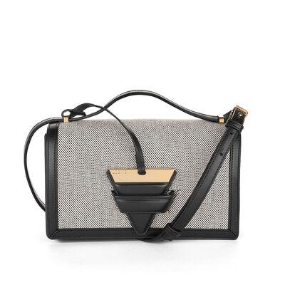 LOEWE Barcelona Bag Natural/Black front