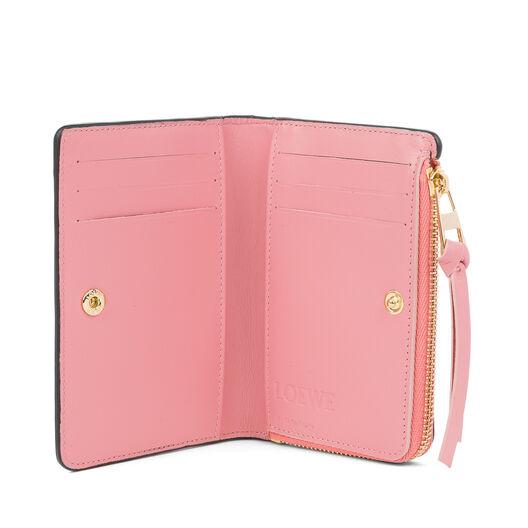 LOEWE Small Zip Wallet Black/Candy all