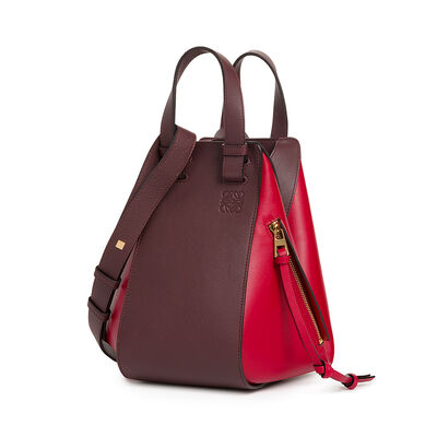 LOEWE Hammock Small Bag Oxblood/Rouge front