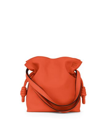 LOEWE Bolso Flamenco Knot Pequeño Coral front