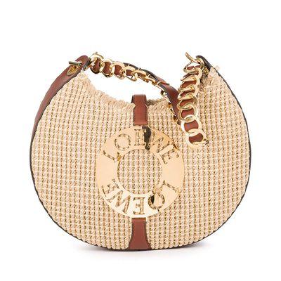 LOEWE Joyce Raffia Bag Natural/Tan front
