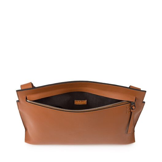 LOEWE T Messenger Bag Tan all
