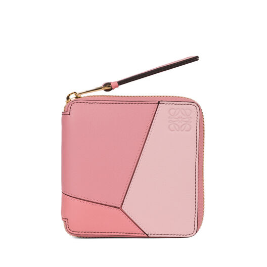 LOEWE Puzzle Small Wallet Soft Pink/Candy/Dark Pink all