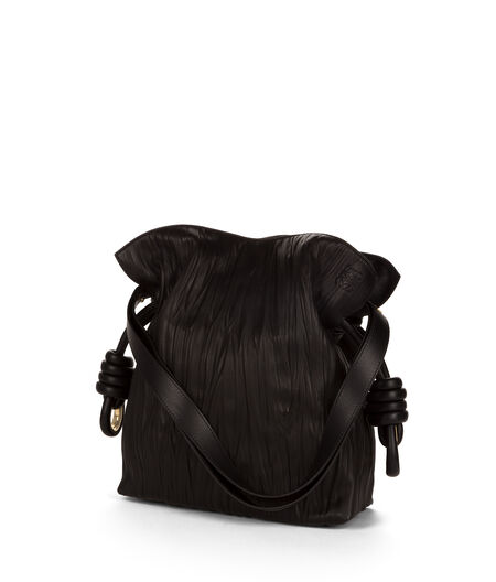 LOEWE Flamenco Knot Bag Black all