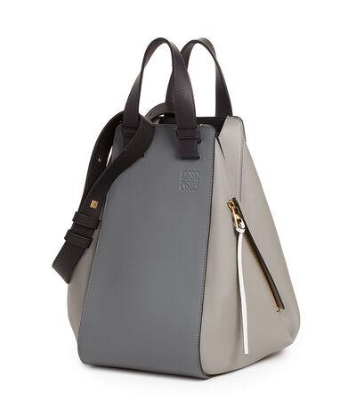LOEWE Hammock Bag Grey Multitone front