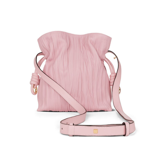 LOEWE Flamenco Knot Small Bag Soft Pink all