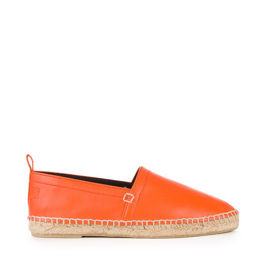 LOEWE Espadrille Nappa Orange all