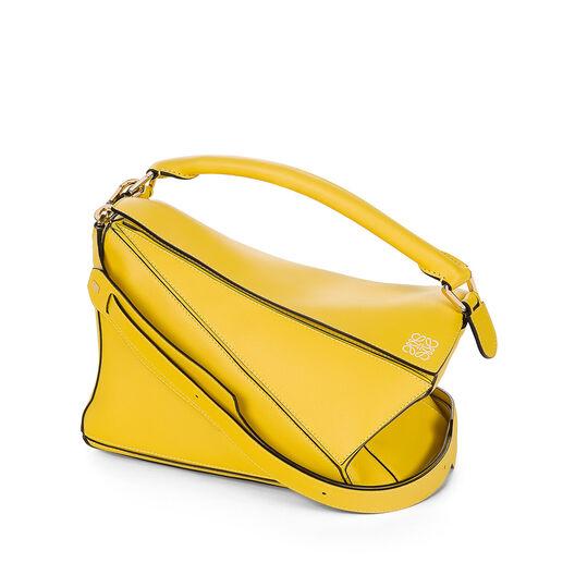 LOEWE Puzzle Bag Yellow all