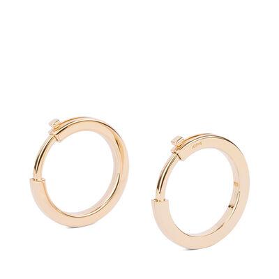 LOEWE Metallic Rings Gold front