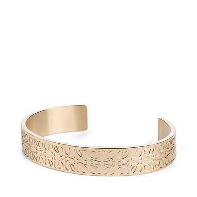 LOEWE Monogram Bangle Gold front