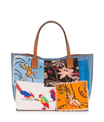 LOEWE T Shopper Paulas Ibiza L Bag Multicolour front