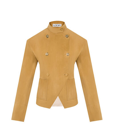 LOEWE Db Cutaway Jacket Gold front