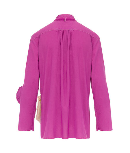 LOEWE Shirt Hanging Pockets Fuchsia all