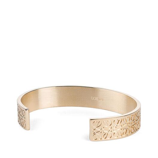 LOEWE Monogram Bangle Gold all