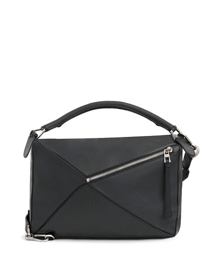 LOEWE Puzzle Large Bag Black all