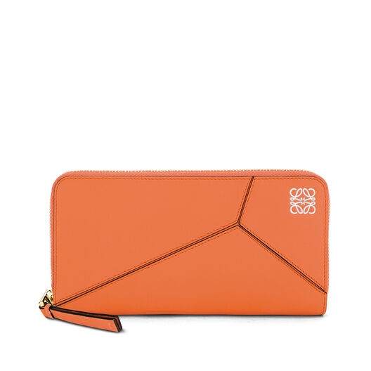 LOEWE Puzzle Zip Around Wallet Coral all