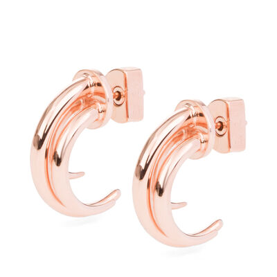 LOEWE Tentacle Earring S Rose Gold front