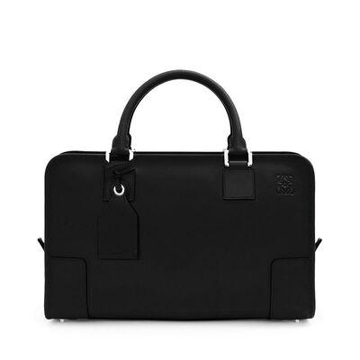 LOEWE Amazona Bag ブラック/パラディウム front