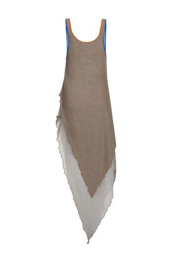 LOEWE Tank Top Knit Dress Sand all