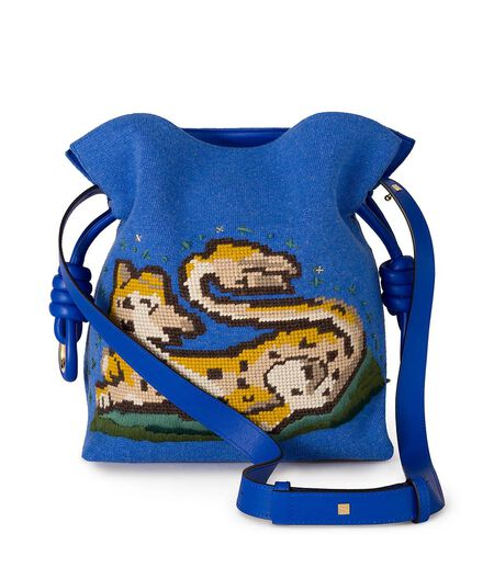 Flamenco Knot Animals Bag