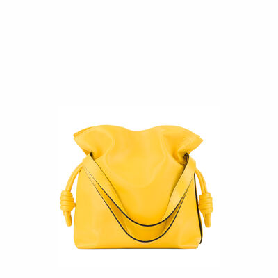 LOEWE Bolso Flamenco Knot Pequeño Amarillo front