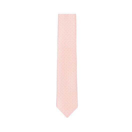LOEWE 7Cm Bicolor Anagram Tie Pink all