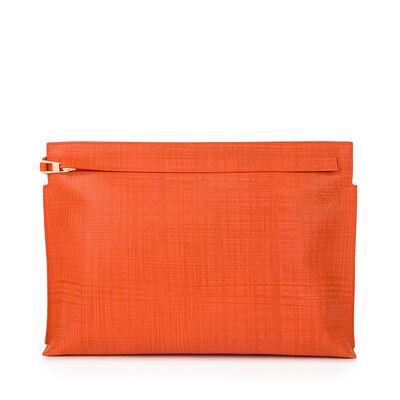 LOEWE T Pouch Orange front