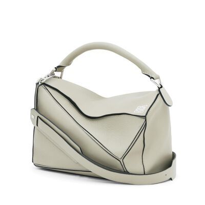 LOEWE Puzzle Bag Stone front
