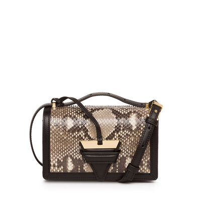 LOEWE Barcelona Small Bag Natural/Black front