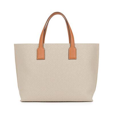 LOEWE T Shopper Xl Bag Natural/Tan front