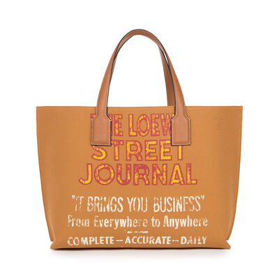LOEWE T Shopper St Journal Xl Bag Tan front