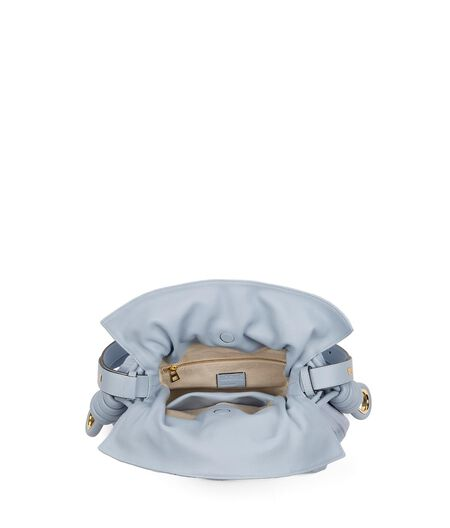 LOEWE Flamenco Knot Bag Light Blue all