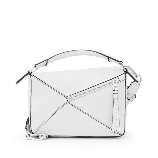 LOEWE Puzzle Small Bag Soft White all