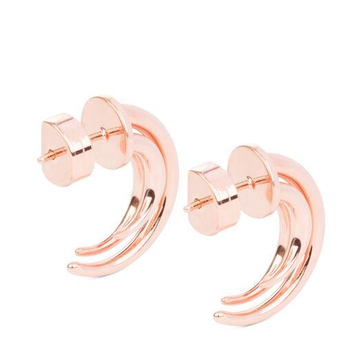 LOEWE Tentacle Earring S Rose Gold all