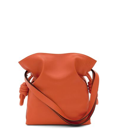 LOEWE Bolso Flamenco Knot Coral front
