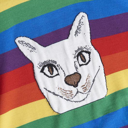 LOEWE Cat Sweater Rainbow Multicolour all