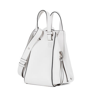 LOEWE Hammock Small Bag Soft White front