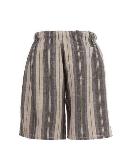 LOEWE Drawstring Shorts Grey/Beige all
