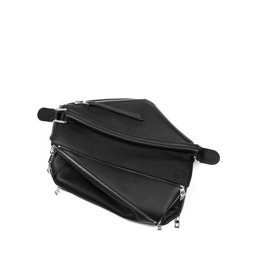 LOEWE Puzzle Zips Bag Black all