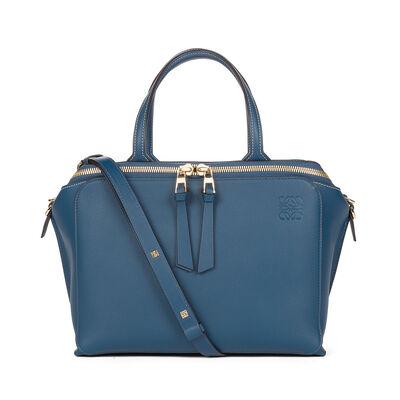 LOEWE Zipper Bag Indigo front