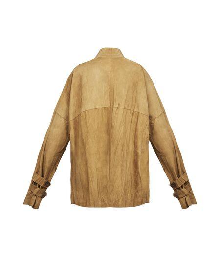 LOEWE Crinkle Jacket Gold all