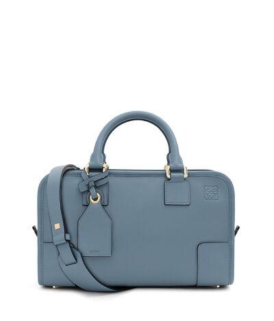 LOEWE Amazona 28 Bag stone blue front